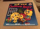 Pac-Man The Christmas Story Book & Record Sealed New