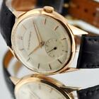 CLASSIC VINTAGE GIRARD PERREGAUX IN 18K SOLID ROSE GOLD MANUAL WIND GENTS WATCH