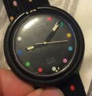 Vtg 1991 Swatch Watch POP Parade/Dots PWBB121 New Battery