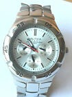 NAUTICA N10074 STAINLESS STEELE BRACELET MEN'S WATCH MINT CONDITION