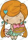 BIRTHDAY ANYA 3 The Greeting Farm Cling Rubber Stamp Stamping Craft RETIRED