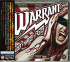 WARRANT-LOUDER-HARDER-FASTER-JAPAN CD BONUS TRACK F83