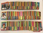 LOT OF 521 DIFFERENT 1975 TOPPS MINI BASEBALL CARDS PARTIAL SET 521 660 EX EXM