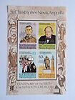 Discount Stamps St Christopher Nevis Anguilla Winston Churchill 1974 MNH S S