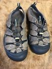 Mens Keen Leather Sports Waterproof Sandals Hiking Fishing Brown Leather Sz11