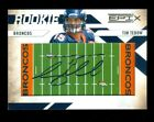 2010 Epix Football #205 Tim Tebow RC AUTO Ono-Card #112 270 SP Field Rookie