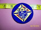 KNIGHTS OF COLUMBUS Sword Anchor Cross Embroidered Patch 2