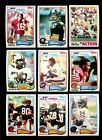 1982 TOPPS FOOTBALL COMPLETE SET MINT *INV1829