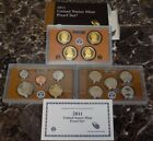 2011 Proof Set US Mint Proof PF Coin Set w mint packaging United States PR Sets
