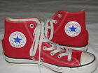 Converse Chuck Taylor All Star shoes Red High Tops Great Condition Women 7 Men 5