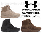 Under Armour 1250234 Mens UA Valsetz RTS Tactical Boots Running Shoes Sizes 8 14