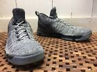 NIKE ZOOM KD 9 Kevin Durant Sz 14 Dark Wolf Gray Knit Sneakers VEUC 843392 002