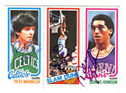 Pistol Pete Maravich & Others Autographed Signed 1980 Topps Card PSA DNA