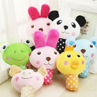 Cute Animal Design Pet Dog Puppy Chew Squeaker Squeaky Plush Sound Play Toys US