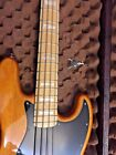 Fender Squire Modified Jazz Bass Amber MINT HSC Included FREE SHIP