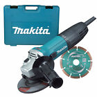 MAKITA GA4530RKD 115mm Slim Angle Grinder Kit