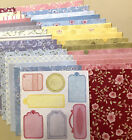 8x8 30 Sheets Scrapbooking Crafting Paper All Different DesignsNEW Lot 1