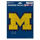 Michigan Wolverines Wincraft 5X7 Shimmer Decal