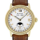 Blancpain 2763 Leman Triple Date Moonphase 2763-1418-53 18kt Yellow GOLD