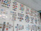 Nystamps British India many mint NH stamp collection album page