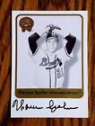 Milwaukee Braves Warren Spahn Auto 2001 Fleer Greats of the Game