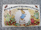 Peter Rabbit Childrens 6 Piece Mini Tea Set by Wedgewood Made in England