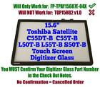 Touch Screen Digitizer Panel Front Glass for Toshiba Satellite C55T-B Series