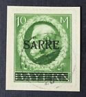 CKStamps Germany Stamps Collection Saar Scott39 Used on Piece Signed