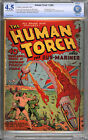The Human Torch 4 Alex Schomburg Cover CBCS 45