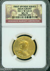 2011 W 10 GOLD COMMEMORATIVE 1 2 Oz FIRST SPOUSE JULIA GRANT NGC MS70 MS 70