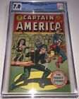 CAPTAIN AMERICA COMICS #63 CGC 7.0 C OW pages 1st Asbestos Lady 1947