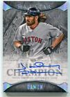 2017 Topps Five Star Heart of a Champion Autographs JD Johnny Damon Auto 5 35