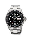 NEW  Orient Black Dial Automatic Silver Diver Men Watch Mako ll W/ BOX FAA02001B