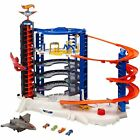 Mattel Hot Wheels Super Ultimate Garage Toy Playset with 4 Cars Jet