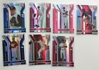 7 X Card Lot of 2004 Donruss Elite Extra Edition Blue and Red Die Cut RC s 85