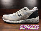 New Balance M991GB Classic 991 Grey Black 991 MADE IN USA Mens Size 13
