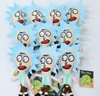 10pcs cartoon Rick And Morty mix PP cotton Plush pendant toy charms gifts r-