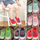 Child Kids Baby Boy Girl Canvas Sneakers Casual Crib Shoes Anti slip Trainers US