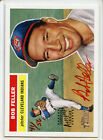 2005 TOPPS HERITAGE BOB FELLER RED AUTOGRAPH 41 56 Cleveland Indians