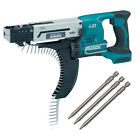 Makita DFR550Z 18V Cordless AutoFeed Screwdriver (Body Only) DFR550 + P-67773