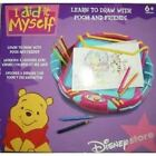 DISNEY WINNIE THE POOH LEARN TO DRAW LIGHT UP DESK KIT TIGGER EEYORE