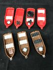 Vintage Lego Pirate Ship Boats Canoes Red Brown Assorted pieces Lot of 7