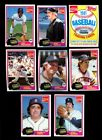 1981 COCA-COLA TIGERS BASEBALL COMPLETE SET LOT OF 10 NMMT W/GIBSON RC *INV3052