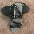 PRIVO by CLARKS Black Ankle Strap Velcro Womens Sandals Sz 95M Worn Once
