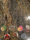 DOG TAGS FROM, SKYLANDER, DORY, ANGRY BIRDS, MARVEL,BAKUGAN AND MORE 54 IN ALL