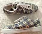 WOMENS REEBOK PLAID SNEAKERS ATHLETIC SHOES size US 8 UK 65 EUR 385 NEW