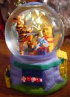 Disney Snowglobe Pooh  Tigger Celebrate Hanukkah Musical Gently Displayed Rare