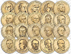 2007 2011 S 1 Presidential Dollar 20pc Coin Set Proof 63 BU