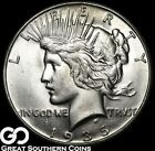 1935 S Peace Dollar Very Nice Lustrous Solid Gem BU++