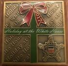 US Secret Service 2017 Christmas Holidays White House Trump Challenge Coin POTUS